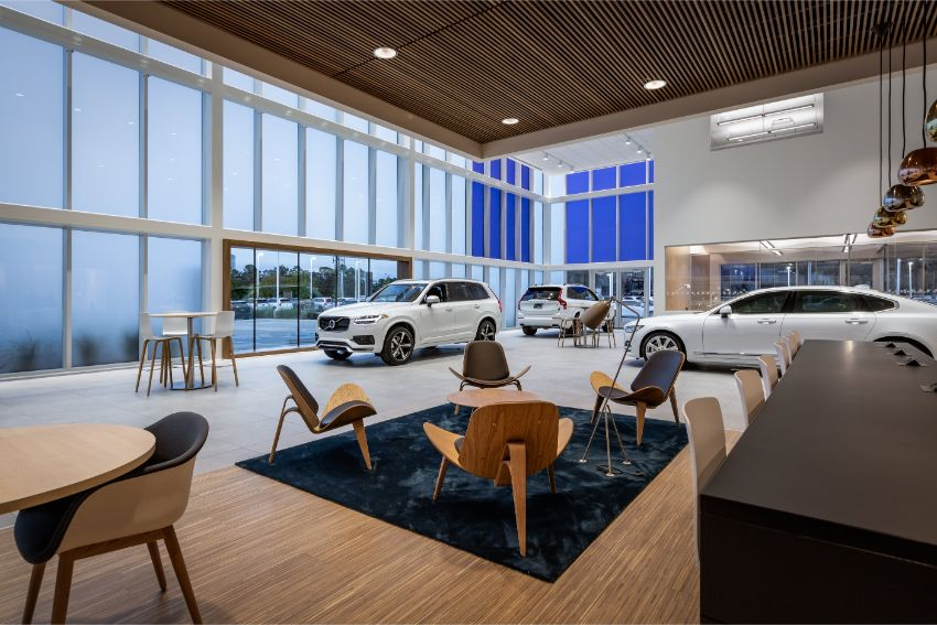 Lobby - Automotive Construction Project