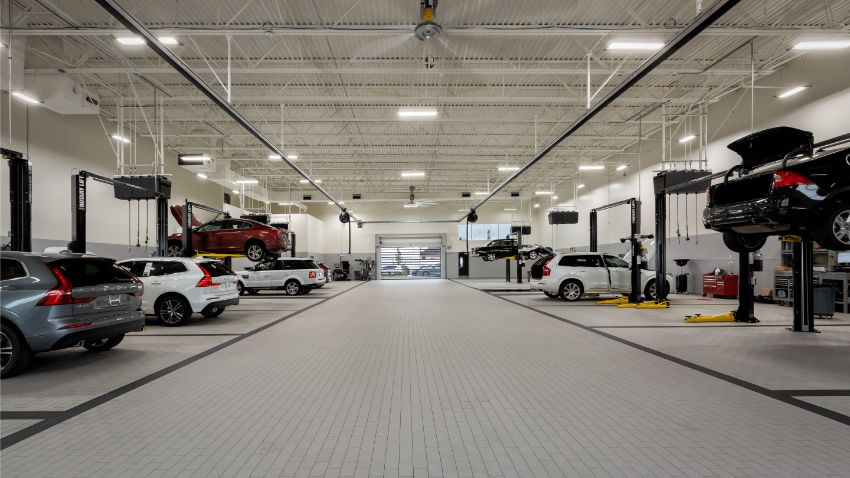 Service Shop - Automotive Construction Project